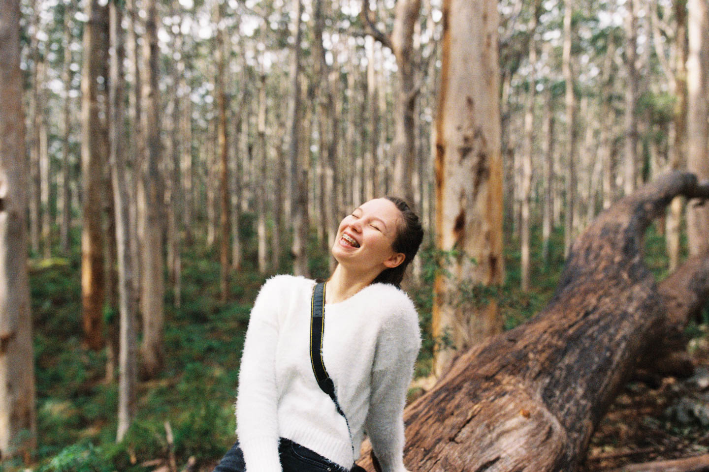 Girl in Boranup Forest